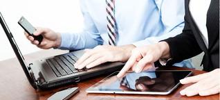 Mobility im Job: Nachwuchs lässt sich mit Smartphones, Notebooks und Tablets ködern