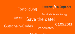 Save the date! Social Media Monitoring Webinar am 03.05.