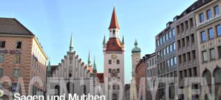 Sagen- und Mythen-Tour im Zentrum: Sagenhaftes München: Vom Brezenreiter und einem diebischen Affen
