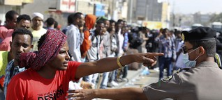 Saudi-Arabien deportiert sich in die Krise