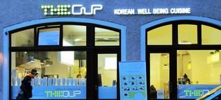 Koreanisches Fast-Food-Restaurant im Glockenbachviertel