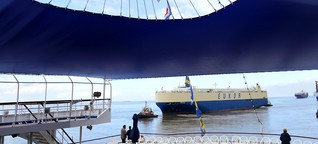 Schiffsbesichtigung : Ausflug zum Deck