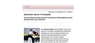 Zahlreiche Titel für TVJ-Kämpfer
