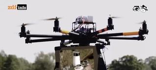 Elektrischer Reporter: Zivile Drohnen erobern die Luft