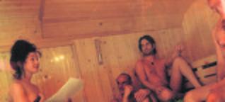 Kunst in de sauna