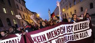 Flüchtlingsproteste: Neues Selbstbewusstsein, alte Vorurteile