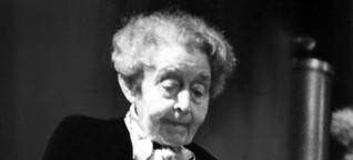 Empfindsame Historikerin - Vor 150 Jahren wurde die Schriftstellerin Ricarda Huch geboren