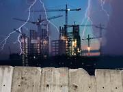 Schlecht Wetter überm Bau