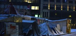 Linksextreme bekennen sich zu Angriff auf Occupy-Camp | Mittendrin | Das Nachrichtenmagazin für Hamburg-Mitte