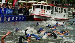 Triathlon in Hamburg 2012 (Photo)