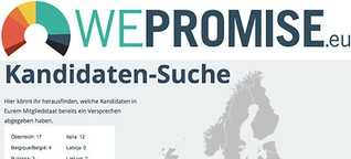 We promise: Kampagne für digitale Bürgerrechte zur Europawahl