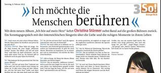 Interview mit Christina Stürmer