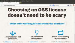 """""""Die Lizenz macht Open Source aus, nicht der Code."""""""