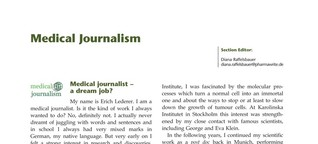 Medizinjournalist - Ein Traumjob?
