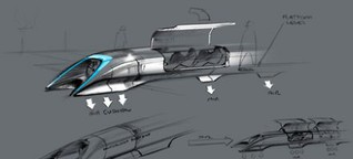 Transportmittel - Der Hype um den Hyperloop
