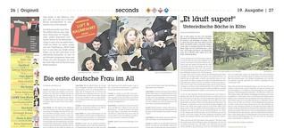 Interview mit Sonja Rhode - Die erste deutsche Frau im All