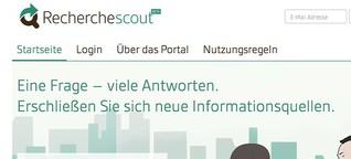 PR on Demand: Recherchescout.de