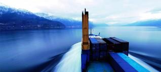 Eine Schiffsreise mit dem Frachtschiff