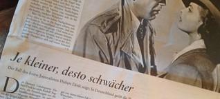Pressefreiheit: Der Fall Hubert Denk