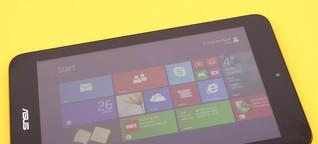 Toshiba Encore und Asus VivoTab Note 8 im Test