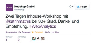 Google Analytics Inhouse Workshops