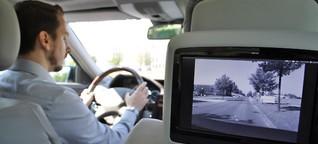Auto der Zukunft: Noch ist der Mensch der überlegene Fahrer