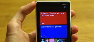 Nokia Lumia 920 im Test: Comeback des gefallenen Handy-Riesen?