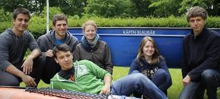 Sechs junge Bonner rudern und paddeln 2516 Kilometer