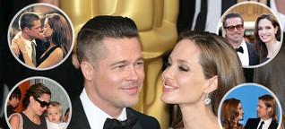 Angelina Jolie und Brad Pitt: Neun Jahre, sechs Kinder - und eine ganz große Liebe!