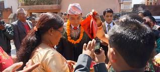Hochzeit in Nepal: Du bist immer so abwesend