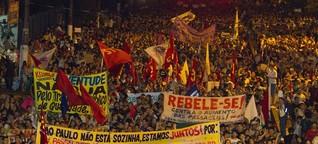 Zurück auf die Straßen Brasiliens | Welt | DW.DE | 17.07.2013