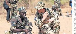 Deutscher Schnellkurs für Malis Soldaten