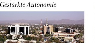 Gestärkte Autonomie
