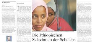 Die äthiopischen Sklavinnen der Scheichs