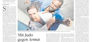 Mit Judo gegen Armut