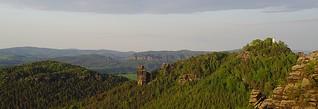 Malerweg Sächsische Schweiz: Wildnis und Theatralik im Elbsandsteingebirge