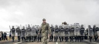 IS-Milizen an der Grenze zur Türkei