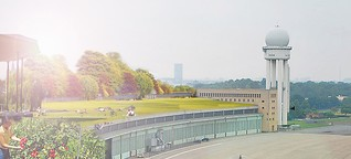 Dachparty auf Tempelhof: Tango neben dem Tomatenstrauch