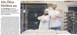 Ufa-Bäckerei: Die Öfen bleiben an