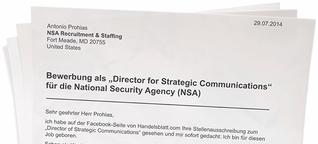 Satire: Bewerbung als NSA-Pressesprecher