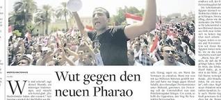 Wut auf den neuen Pharao