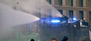 """Polizei warnt vor """"neuer Dimension der Gewalt"""""""