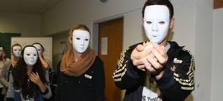 Ohne Stimme, ohne Gesicht - Theaterworkshop 2013 in der 11/1