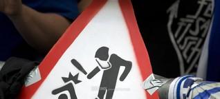 Polizeigewalt bei Faneinsätzen: Schlagstock auf Band