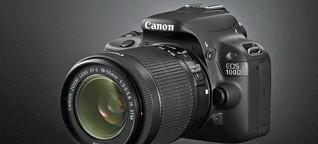 Einsteiger-Spiegelreflex: Die Canon EOS 100D im Alltagstest - Einsteiger-Spiegelreflex
