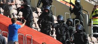 """Merkwürdige Zahlen der Polizei: Was hinter dem """"Randale-Report"""" steckt - n-tv.de"""