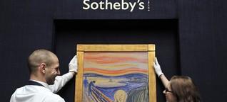 """Kritik an Sotheby's Versteigerung von """"Der Schrei"""""""