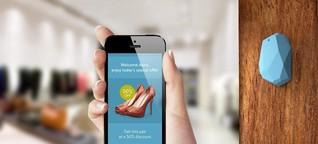 Supermarkt-Schnäppchen funken aufs Handydisplay