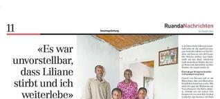 """Es war unvorstellbar, dass Liliane stirbt und ich weiterlebe"""" - 20 Jahre Genozid in Ruanda"""
