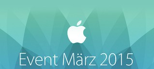 Apple Keynote vom 09.03.2015